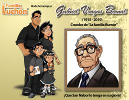 Descanse en paz, Don Gabriel. by nebrag