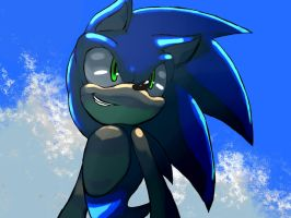 Colored Sonic by KoiuBlaze