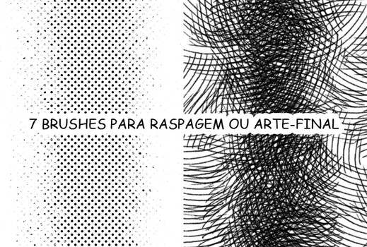 Brushes para raspagem by Netsubou
