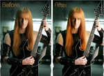 Karl Logan before after by Bilboxx