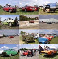The show of the old cars by Levvvar