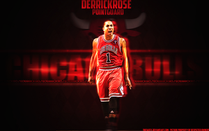 Derrick Rose by TheSaffy