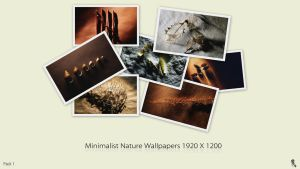 Minimalist Nature Wallpapers by DarknesFreak