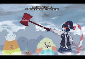 Kill La Kill/Adventure Time Screenshot by Lightrail
