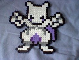 Mewtwo Bead Art by Poke-Beads