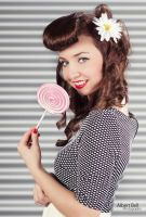 Pin-Up Girl - Natalie IV by BellPhotography