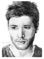 Jensen Ackles by sphili
