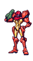 Samus Sprite by Scott-VanDusen