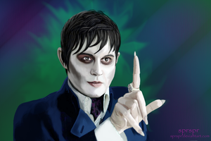 Depp as Barnabas Collins by SPRSPRsDigitalArt