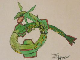 Rayquaza by Cody2897