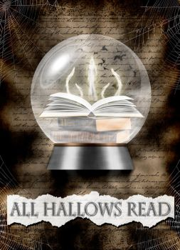 Haunted Book All Hallows Read 2015 by blablover5
