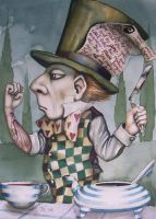 Mad Hatter Suicide by HOMELYVILLAIN