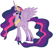 Queen Twilight Sparkle by Beavernator