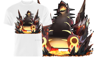 Primal Groudon top design by Zodiax3