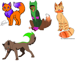 Wolf and Fox adopts CLOSED by MoBAdopts