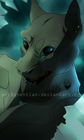 Lurking in the shadows by Ghentian