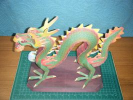 Chinese Luck Dragon Statue 1 by devastator006