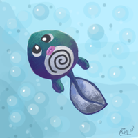 Poliwag by Litteria