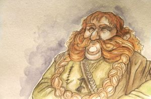 Bombur, Brother of Bofur by citrus-slice