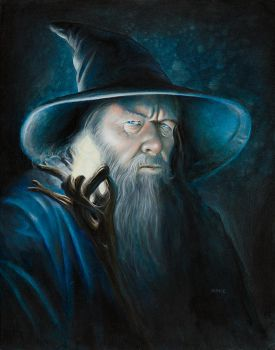 Gandalf Illuminated (fin) by kohse