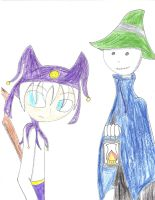 Jack Frost and Pyro Jack Skellington by WarriorNun