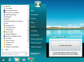 Windows 8 Start Menu Toggle by SuprVillain