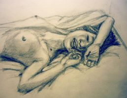 untitled sketch of the day by uneflaneuse