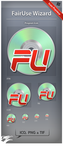 Icon FairUse Wizard by ncrow