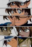 Detective Conan in color (Original drawing) by KiddyDarling