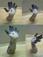 Paper mache arm by arkhan100