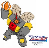 Animated Omega Supreme by Scream01
