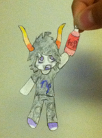 Gamzee Paperchild by WolfTwine