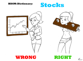 BDSM-Dictionary: Stocks by luctem