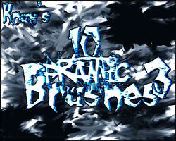 Knux's Frantic Brush Pack 3 by Knux57