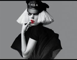 GAGA thefame monster wallpaper by Madonna1250