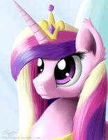Royalty Portrait - Princess Me Amore Cadenza by NiegelvonWolf