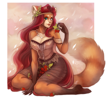 Strawberry Fields - Commission by clover-teapot
