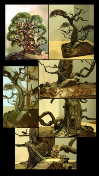 Pixie Tree Miniature by cristianci