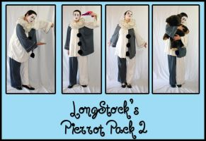 Pierrot Pack 2 by LongStock