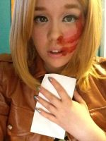I lost my chance. Petra Ral AOT Cosplay by ThatCosplayNerd