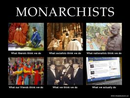 Meme - Monarchists by neral85