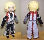 Leon Belmont,plush doll by MariaHasAPaintBrush