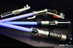 Ultimate Lightsabers by HariNgDuga