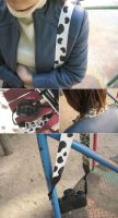Camera Strap - F by paperplane-products