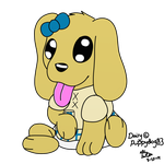 Baby Daisy for puppydog83 by CollectionOfWhiskers