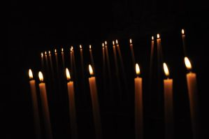 Candles in the dark by nyc0