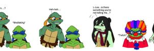Clowning Around TMNT by Lily-pily
