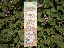 Bookmarks,Castle in the Sky by Khov97