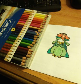 Lilligant by MelodyLawrenceArt