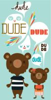 Dude Bears by crowded-teeth